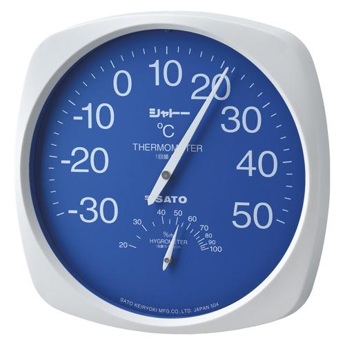 佐藤計量器製作所 温湿度計 TH-300 1個
