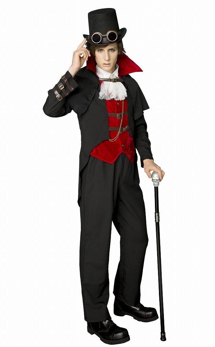 steampunk 伯爵 コスプレ 衣装 ハロウィン メンズ(代引不可)