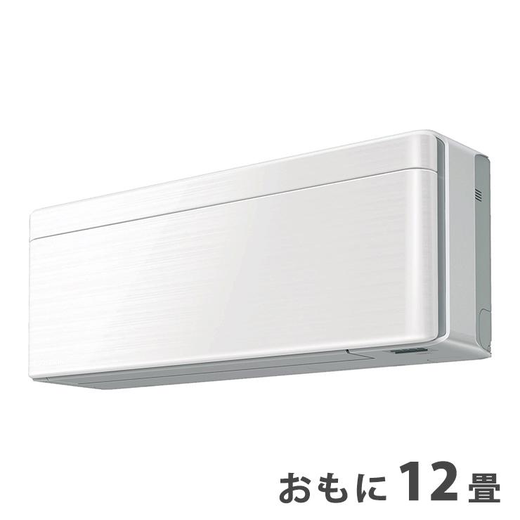 ダイキン おもに12畳 ルームエアコン おもに12畳 SXシリーズ S36WTSXS-W ラインホワイト 2019年 SXシリーズ ダイキン risora【設置工事不可】(代引不可)【送料無料】【S1】, 太宰府市:d03822d5 --- sunward.msk.ru