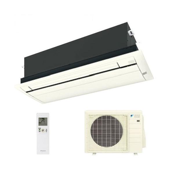 ダイキン ハウジングエアコン 天井カセット形シングルフロー 18畳程度 S56RCV(室内F56RCV・室外R56RCV) ホワイト BC40JF-W 【業務用】(代引不可)【送料無料】