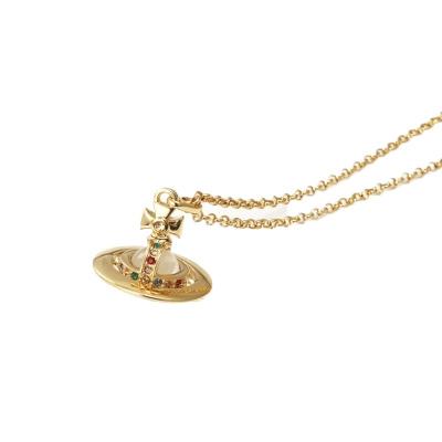 ヴィヴィアンウエストウッド Vivienne Westwood ネックレス NEW TINY ORB IMITAT ゴールド 専用BOX 紙袋付き 752014B/2【送料無料】