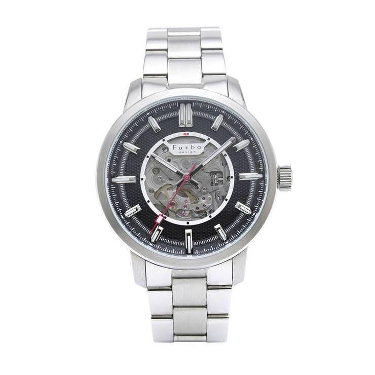 フルボデザイン Furbo design 時計 腕時計 自動巻き F8203BKSS POTENZA ポテンザ おしゃれ プレゼ