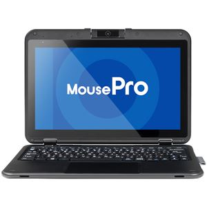 マウスコンピューター(モバイル) 11.6型 Windows 10 Pro搭載 2in1タブレット MousePro-P116A(Windows 10 Pro/CeleronN3450/4GB/eMMC64GB/マルチタッチ/10.3時間稼働/1年間ピックアップ保証)【送料無料】