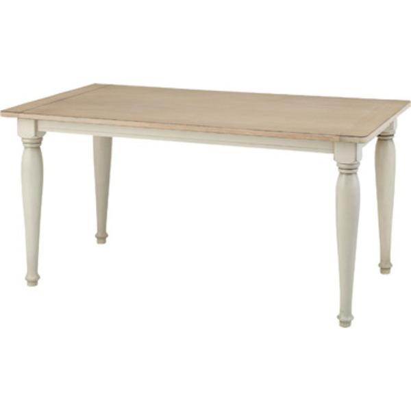 《クラシック調家具》 クラッシー ダイニングテーブル(組立) CL-467T 【W150×D80×H71】