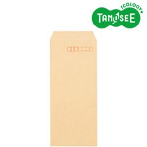 (まとめ)TANOSEE クラフト封筒 テープ付 70g 長40 〒枠あり 1000枚入×3パック