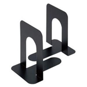 (まとめ買い)ジョインテックス ブックエンド L 黒 2個/1組 B168J-L-BK 【×80セット】