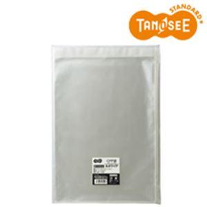 (まとめ)TANOSEE CPP袋 A4ワイド用フタ・テープ付 240×330+40mm 100枚入×10パック