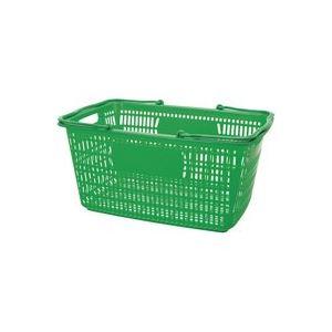 (まとめ買い)ジョインテックス ショップかご 30L緑 B264J-GR 【×20セット】