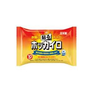 (まとめ買い)興和新薬 貼るホッカイロ 10個入×24パック 【×2セット】
