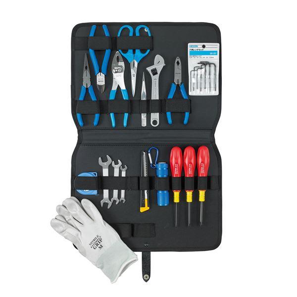 【ホーザン】工具セット S-372【工具 24点セット】