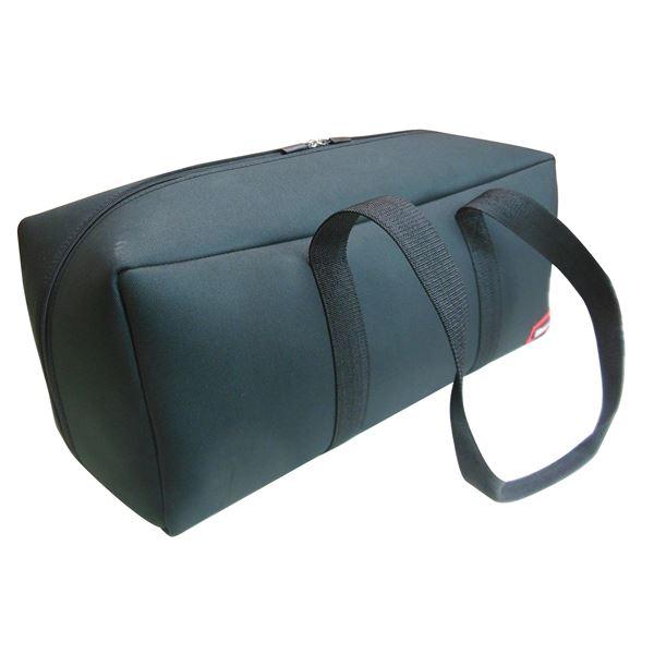 (業務用10個セット) DBLTACT トレジャーボックス(作業バッグ/手提げ鞄) LLサイズ 自立型/軽量 DTQ-LL-BK ブラック 〔収納用具〕