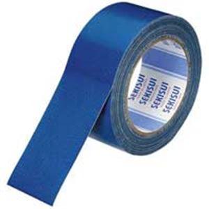 ランキング第1位 セキスイ ×100セット:リコメン堂ホームライフ館 No600V 青 (業務用100セット) N60AV03 布テープ 50mm×25m-DIY・工具