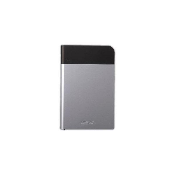 BUFFALO バッファロー ICカード対応MILスペック 耐衝撃ボディー防雨防塵ポータブルHDD シルバー 1TB HD-PZN1.0U3-S HD-PZN1.0U3S