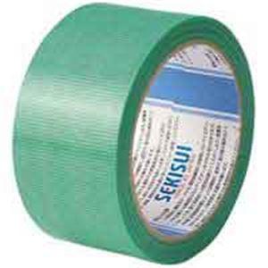 (業務用100セット) セキスイ 養生用テープフィットライト738 50X25 緑 ×100セット
