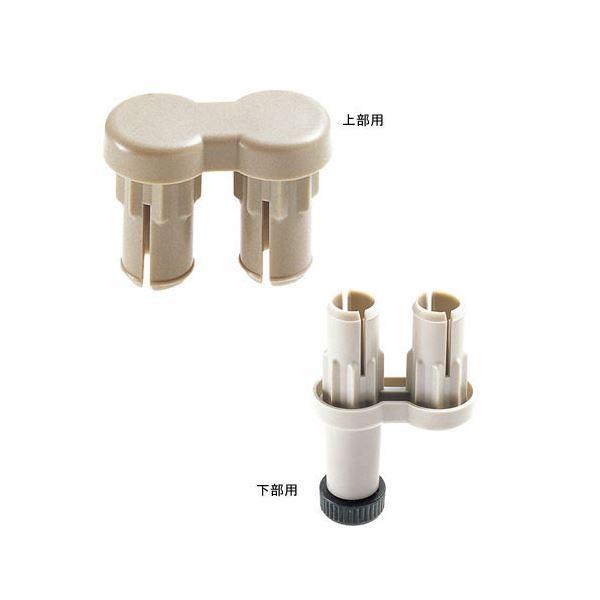 (業務用10セット) ジョインテックス 衝立SPX 2方向連結樹脂上下セット SPX-2S ×10セット