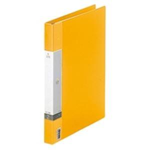 (業務用50セット) LIHITLAB クリヤーブック クリアブック リクエスト G3801-5 A4S 黄 ×50セット