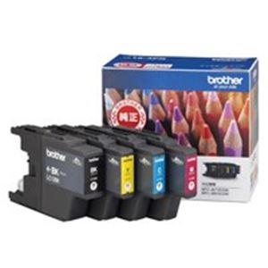 (業務用5セット) ブラザー工業(BROTHER) インクカートリッジ LC12-4PK 4色 【×5セット】
