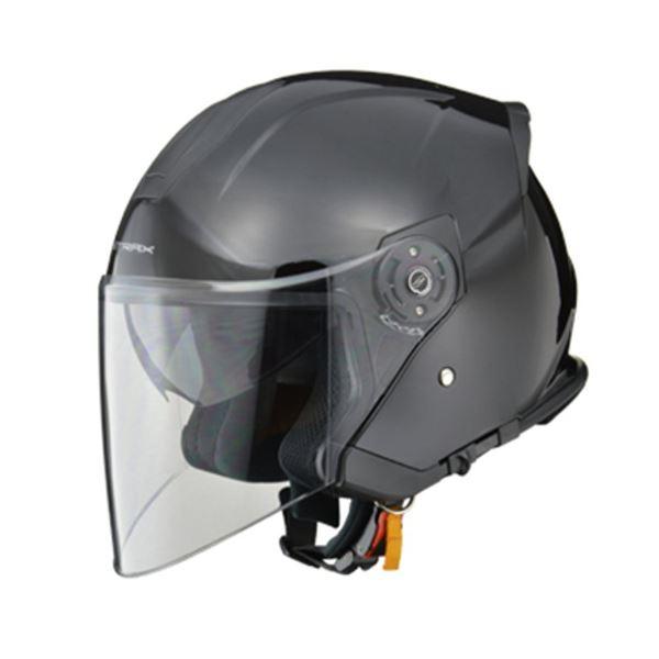 リード工業 (LEAD) ジェットヘルメット SJ10 ブラック フリー