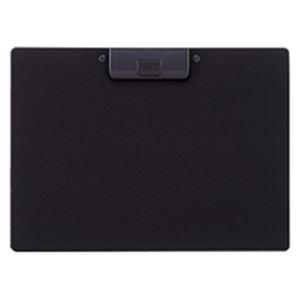 (業務用50セット) LIHITLAB クリップボード 捺印対応 A-2985-24 A4S 黒 ×50セット