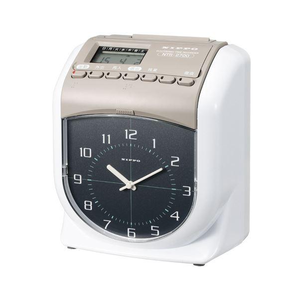 ニッポ- タイムレコーダー NTR-2700 NTR-2700