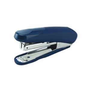 (業務用30セット) プラス ホッチキス ラクヒット ST-010R 青 5個 ×30セット