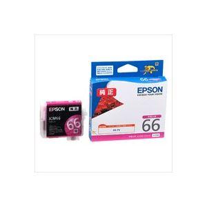 (業務用40セット) エプソン EPSON インクカートリッジ ICM66 マゼンタ ×40セット