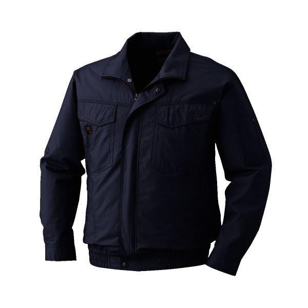 空調服 綿薄手長袖タチエリブルゾン リチウムバッテリーセット BM-500TBC69S7 チャコール 5L