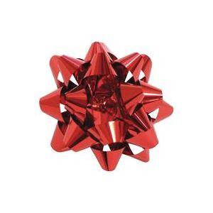 (業務用200セット) タカ印 ホイルスター 赤 5個 35-6852 ×200セット