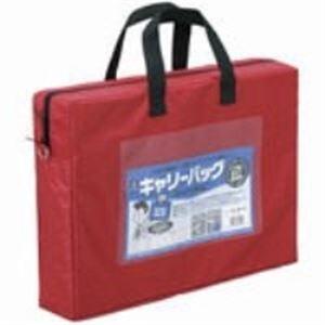 (業務用20セット) ミワックス キャリーバッグ CB-440-R A4 マチ付 赤 ×20セット