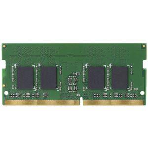 エレコム EU RoHS指令準拠メモリモジュール/DDR4-SDRAM/DDR4-2400/260pinS.O.DIMM/PC4-19200/4GB/ノート用