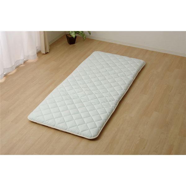 敷き布団 シングル 寝具 抗菌防臭 アレル物質吸着 『ヌード アレルプルーフ』 約100×210cm