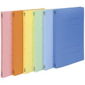 (業務用30セット) ビュートン PPフラットファイル バインダー 2穴 FF-A4S A4S 黄 10冊 ×30セット