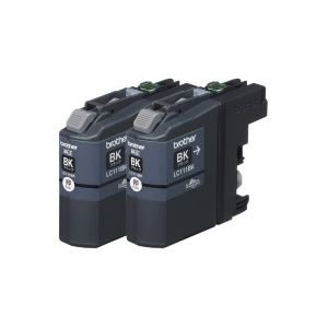 (業務用20セット) ブラザー工業 インクカートリッジ LC111BK-2PK ブラック ×20セット