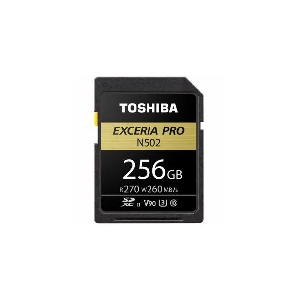 TOSHIBA SDHC/SDXCメモリカード 「EXCERIA PRO」 256GB SDXU-D256G