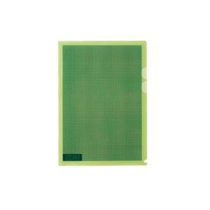 (業務用100セット) プラス カモフラージュホルダー FL-127CH-5P 淡緑 5枚 ×100セット