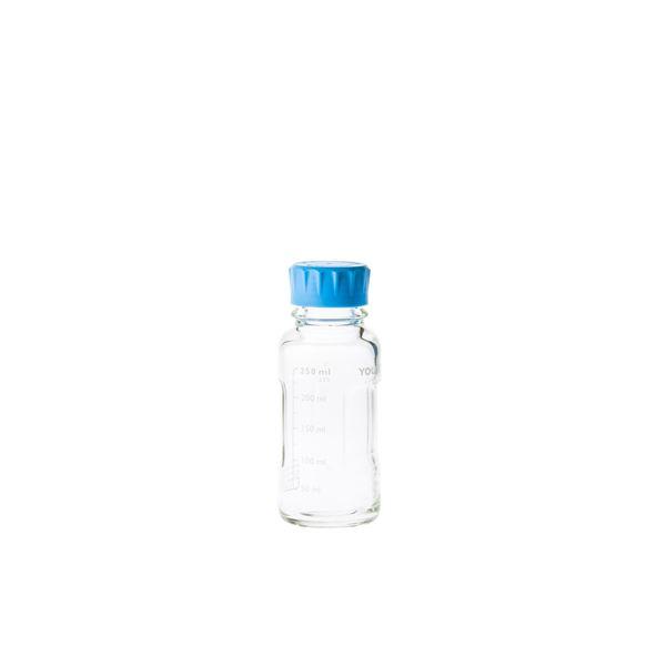 【柴田科学】ユーティリティーねじ口びん 水キャップ付 250mL【4個】
