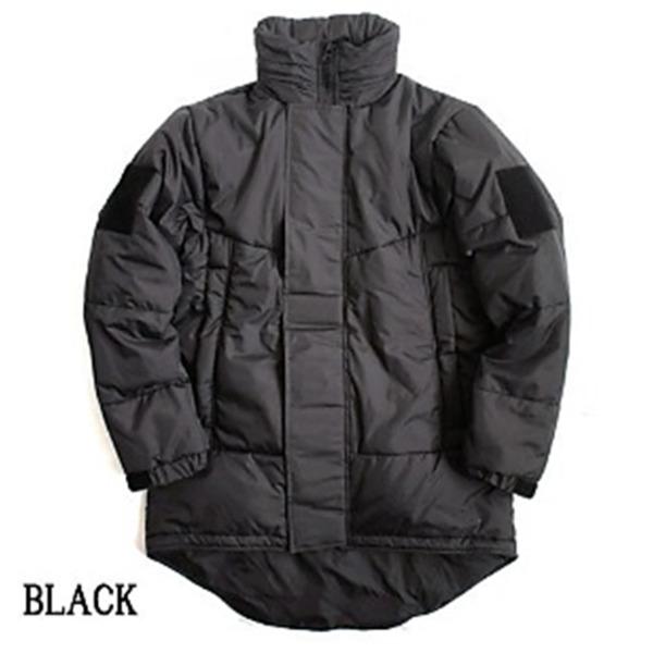 U SタイプPCU LEVE7 TYPE2 中綿パーカー ブラック ( M相当)