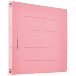 (業務用5セット) フラットファイル 紙バインダー 2穴 A4E 桃120冊 D018J-12PK 【×5セット】