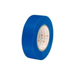 (業務用300セット) ヤマト ビニールテープ NO200-19 19mm*10m 青 ×300セット