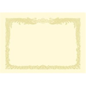 (業務用50セット) タカ印 賞状用紙 10-1077 B4 縦書 10枚 ×50セット