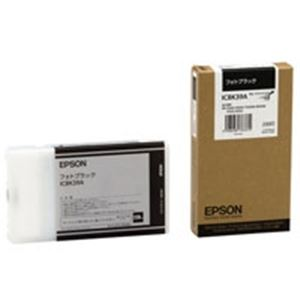(業務用3セット) EPSON(エプソン) IJインクカートリッジ ICBK39A フォトブラック 【×3セット】
