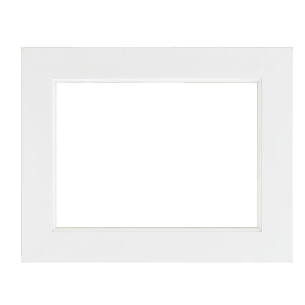 モダン調 油絵額縁/油彩額縁 【WF6 ホワイト】 縦44.4cm×横95.4cm×高さ4.9cm 表面カバー:ガラス 表面フラット型状 樋面金
