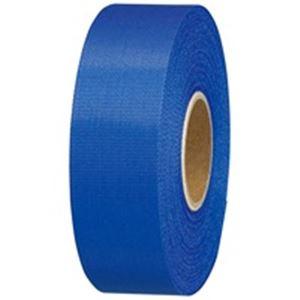 (業務用10セット) ジョインテックス カラーリボン紺 24mm*25m 10個 B824J-NB10 ×10セット