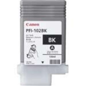 (業務用3セット) Canon(キャノン) インクカートリッジ PFI-102BK ブラック 【×3セット】