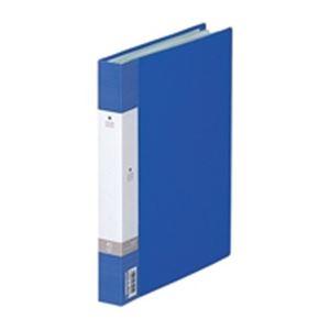 (業務用100セット) LIHITLAB クリヤーブック クリアブック リクエスト G3208-8 B5S 青 ×100セット