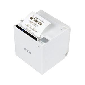 エプソン サーマルレシートプリンター/スタンダードモデル/TM-m30シリーズ/80mm・58mm/電源同梱/ホワイト TM30UBE611