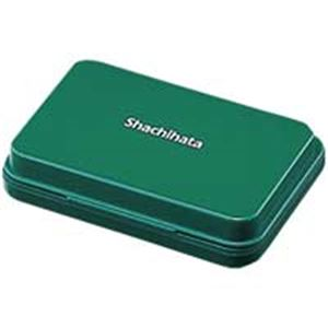 (業務用100セット) シャチハタ スタンプ台 HGN-1-G 小形 緑 ×100セット