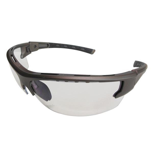 反射光をカット!目に負担が少なくクリアな視界の保護メガネ (業務用15個セット) DBLTACT セーフティゴーグル 【スーパークリア】 DT-SG-14SC