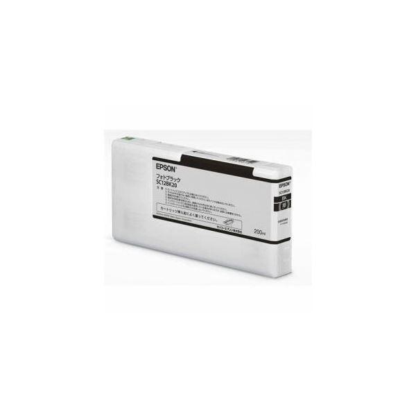 EPSON インクカートリッジ フォトブラック 200ml SC12BK20