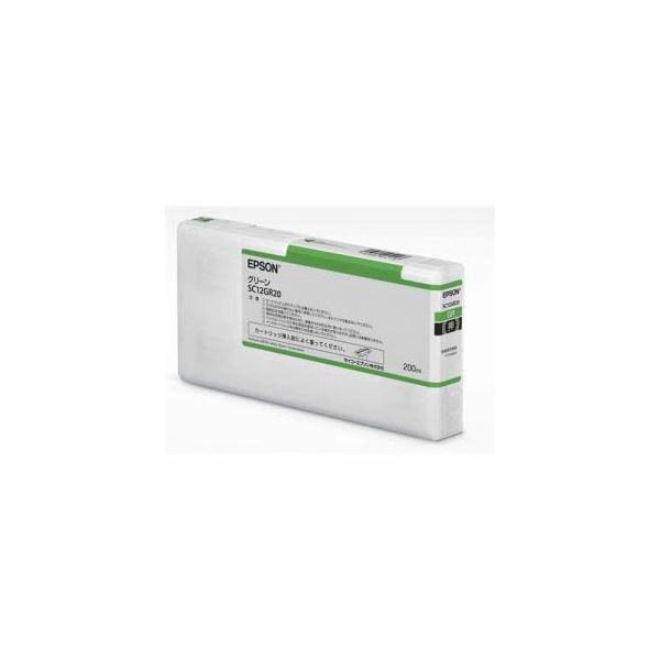 EPSON インクカートリッジ グリーン 200ml SC12GR20